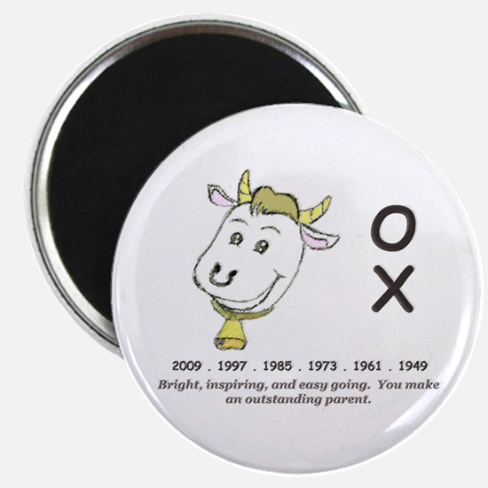 year of the ox magnet