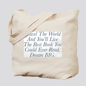 Live The Best Book Tote Bag