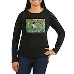 Irises / Toy Fox T Women's Long Sleeve Dark T-Shir