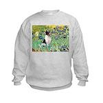 Irises / Toy Fox T Kids Sweatshirt