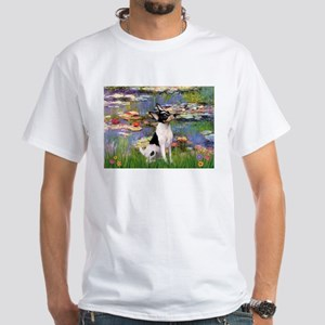 Lilies / Toy Fox T White T-Shirt