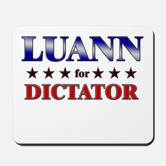 LUANN for dictator Mousepad