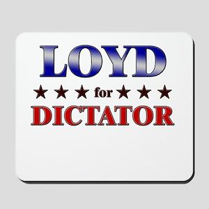 LOYD for dictator Mousepad