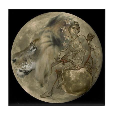 Hunter's Moon Tile Coaster
