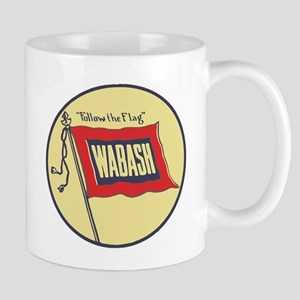 Wabash Railroad logo Mugs