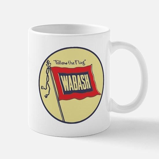 Wabash Railroad logo Mugs