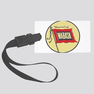 Wabash Railroad logo Large Luggage Tag