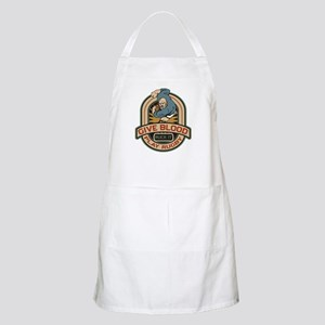 Give Blood Play Rugby Apron