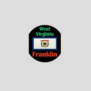 Franklin West Virginia Mini Button