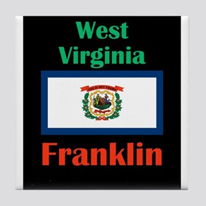 Franklin West Virginia Tile Coaster