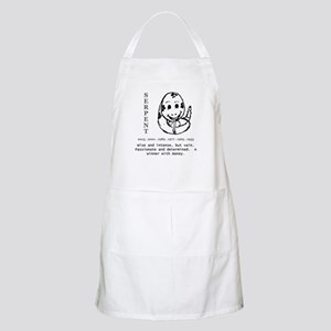 year of the serpent BBQ apron