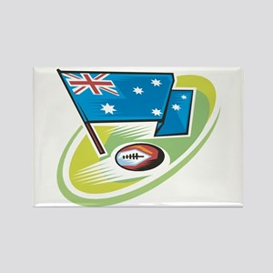 Australia Rugby Rectangle Magnet