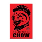 Obey the CHOW - Chairman Chow Mini Poster