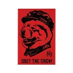 Obey the Chow! Propaganda Magnets (10 pack)