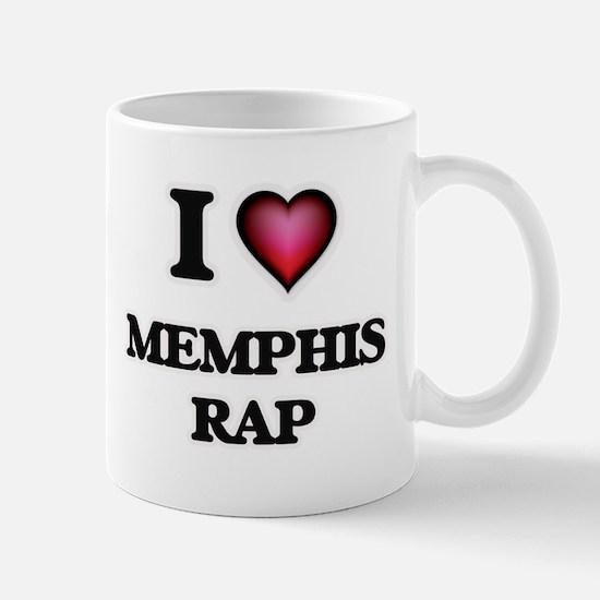 I Love MEMPHIS RAP Mugs