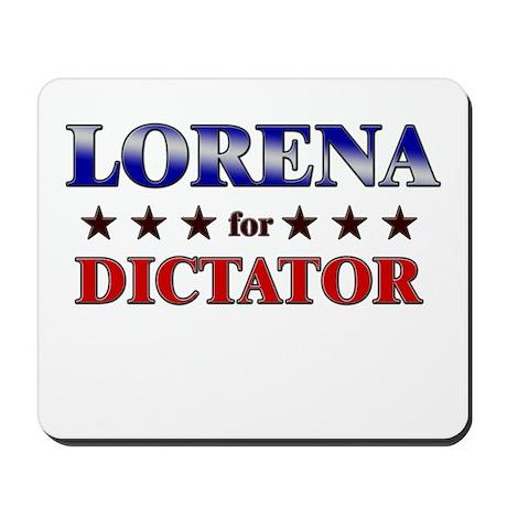 LORENA for dictator Mousepad