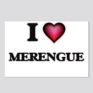 I Love MERENGUE Postcards (Package of 8)
