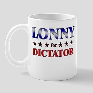 LONNY for dictator Mug