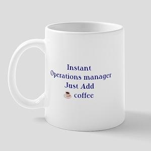 Operations Manager Mug