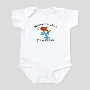 I'm A Keeper Grandma Infant Bodysuit