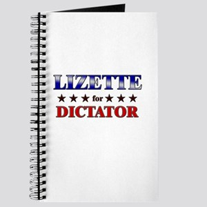 LIZETTE for dictator Journal