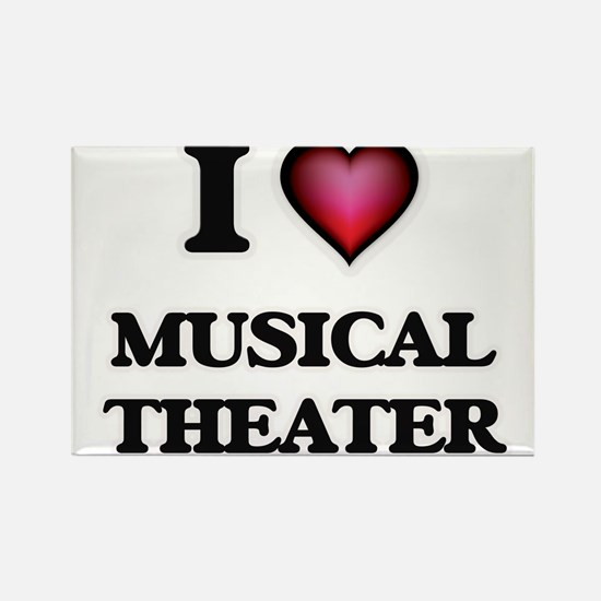 I Love MUSICAL THEATER Magnets