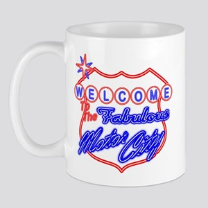 Motor City Vegas Style Mug