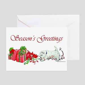 Westie Greetings Greeting Cards (Pk of 20)