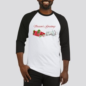 Westie Greetings Baseball Jersey