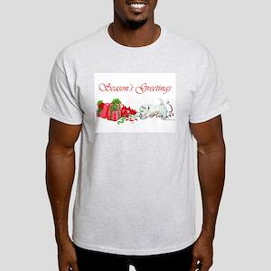 Westie Greetings Light T-Shirt