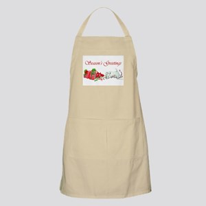 Westie Greetings BBQ Apron