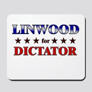 LINWOOD for dictator Mousepad