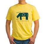 Rhino Facts Yellow T-Shirt