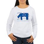 Rhino Facts Women's Long Sleeve T-Shirt
