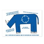 Rhino Facts Postcards (Package of 8)