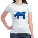 Rhino Facts Jr. Ringer T-Shirt