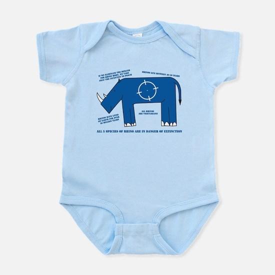 Rhino Facts Infant Bodysuit
