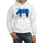 Rhino Facts Hooded Sweatshirt