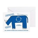 Rhino Facts Greeting Cards (Pk of 20)