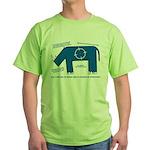 Rhino Facts Green T-Shirt