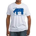 Rhino Facts Fitted T-Shirt