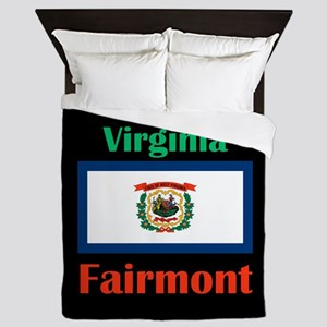 Fairmont West Virginia Queen Duvet