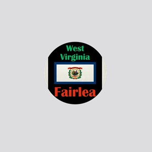 Fairlea West Virginia Mini Button
