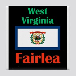 Fairlea West Virginia Tile Coaster