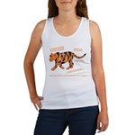 Tiger Facts Women's Tank Top