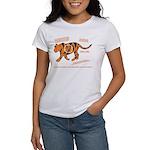 Tiger Facts Women's T-Shirt
