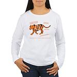 Tiger Facts Women's Long Sleeve T-Shirt