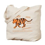 Tiger Facts Tote Bag