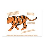 Tiger Facts Postcards (Package of 8)