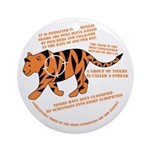 Tiger Facts Ornament (Round)